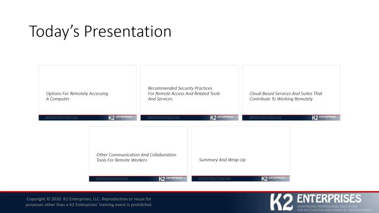 Summary Zoom Slide