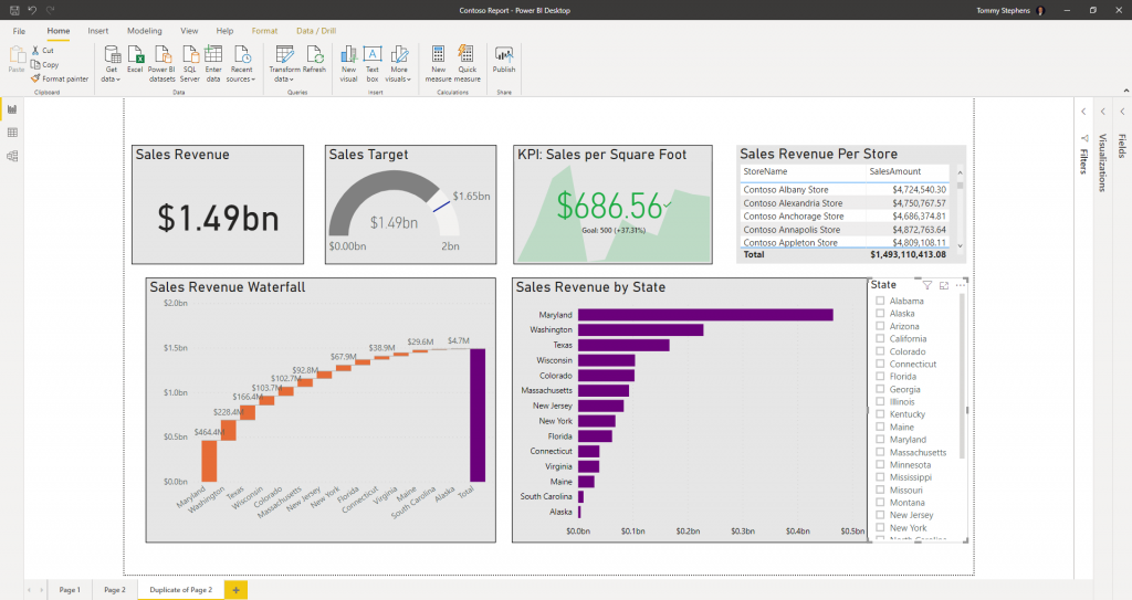 Slicer Filter In Power BI